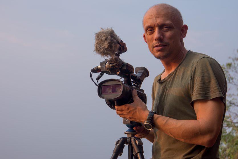 Referentenportrait 3d videocam