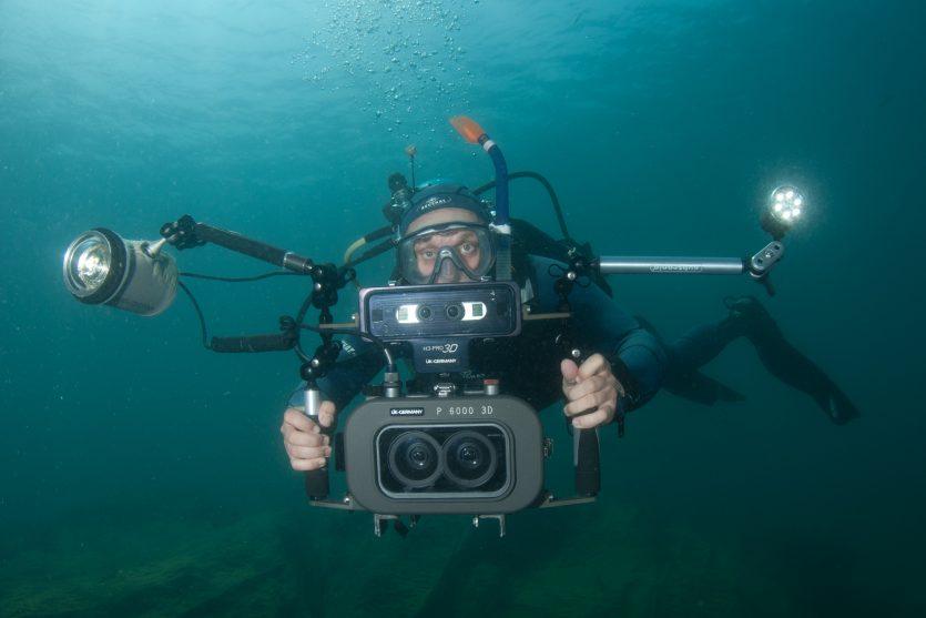 Referentenportrait unterwasser