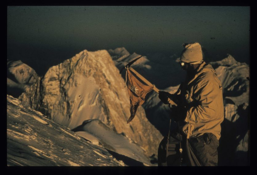 AS Baltoro Buhl on the top of Braod Peak
