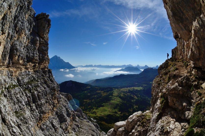 2304 Monte Pelmo Bandmit Aussicht