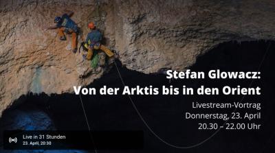 DAV Live Stream Stefan Glowacz