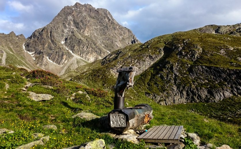 Brunnen – Anton Renk Hütte