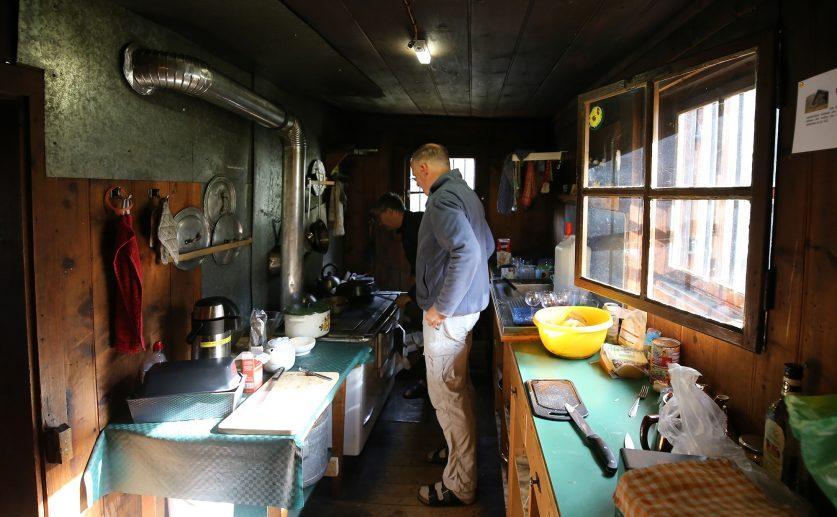 Küche – Anton Renk Hütte