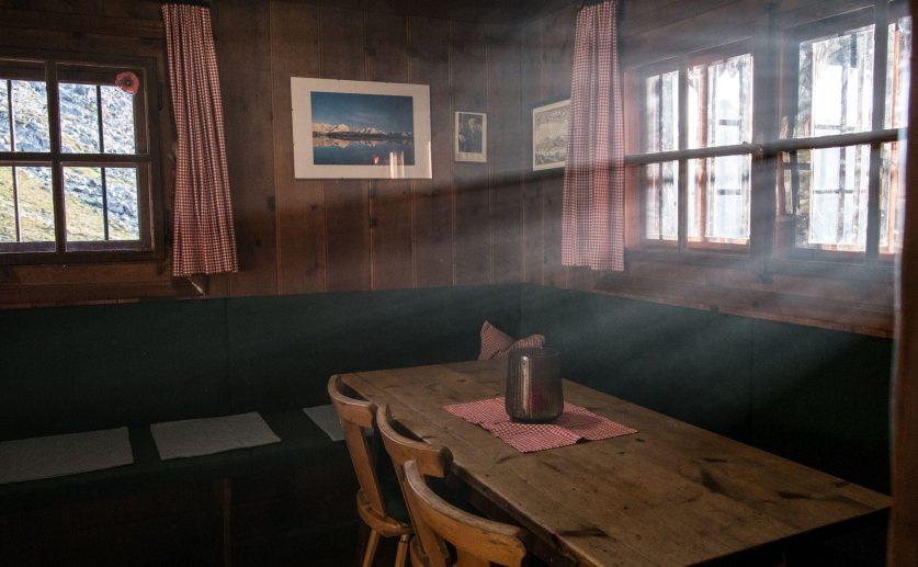 Stube  – Anton Renk Hütte