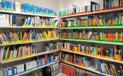 Bibliothek Ecke